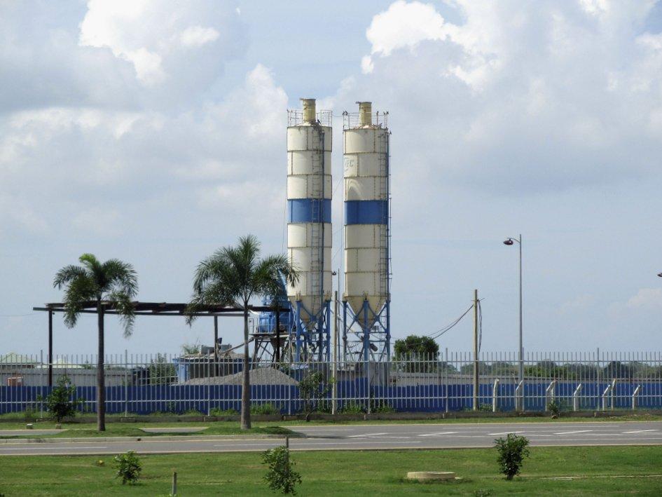 The fuel farm at Mattala Rajapaksala International Airport.