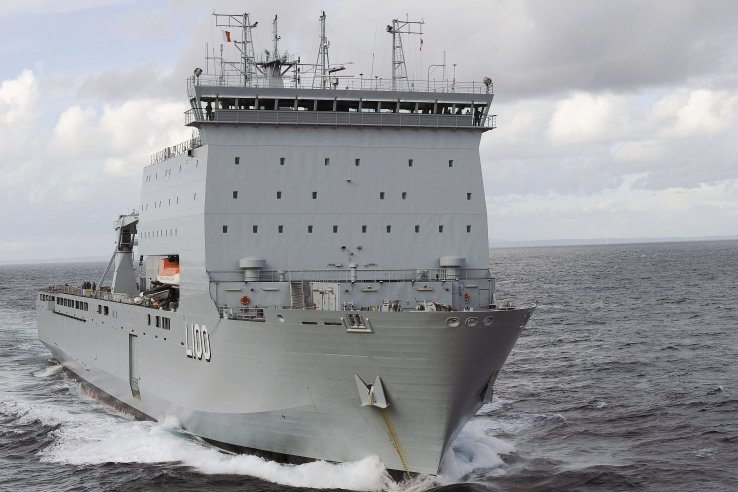 HMAS Choules was sidelined with propulsion problems this year just eight months after it was bought from the UK.